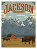 Jackson Wyoming Print by  Anderson Design Group