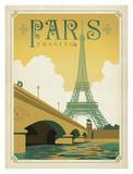 Paris France Classique Arte por Anderson Design Group