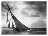 Sailing Yacht Mohawk, 1895 - Art Print
