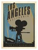 Los Angeles, The City of Angels Affiches par  Anderson Design Group