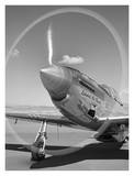 Spinning propeller Posters by Gordon Osmundson