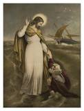 Christ on the Sea Prints by G. Richter