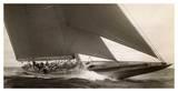 Edwin Levick - J Class Sailboat, 1934 - Poster