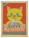 Kitty Krunch Kunstdruck von  Anderson Design Group