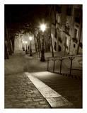 Montmartre, Paris Affiches par Vadim Ratsenskiy