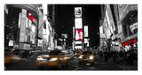 Nightlife in Times Square Posters by Ludo H.