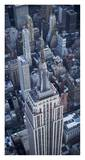 Aerial view of the Empire State Building Prints by Cameron Davidson