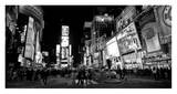 Times Square at Night, NYC Pósters por Ludo H.