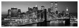 Brooklyn Bridge to Manhattan Poster van Richard Berenholtz