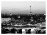 Paris at Night Posters af Arnaud Chicurel