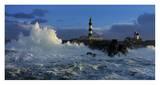Leuchtturm-Panorama Poster von Jean Guichard