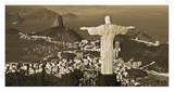 Overlooking Rio de Janeiro Affiches par Danny Lehman