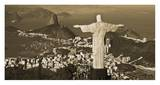Overlooking Rio de Janeiro Prints by Danny Lehman