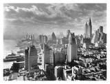 East Side von Manhattan, 1931 Poster von Samuel Gottscho