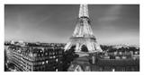 The Eiffel Tower and surrounding Buildings Prints by Paul Hardy