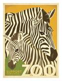 Zoo Zebra Pôsters por Anderson Design Group