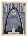 St. Louis, Gateway Prints by  Anderson Design Group