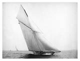 Yacht Columbia Sailing, 1899 Prints