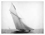 Yacht Columbia Sailing, 1899 Print