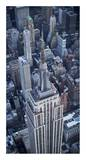 Aerial view of the Empire State Building Pster por Cameron Davidson