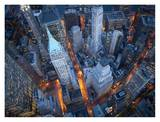 Aerial view of Wall Street Lminas por Cameron Davidson