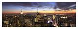 New York City Panorama Art