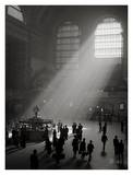 Sunbeams Streaming into Grand Central Station, NYC Print by Philip Gendreau