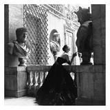 Vestido de noche, Roma, 1952 Póster por Genevieve Naylor