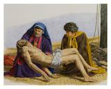Burial of Jesus Print by Bill Gregg