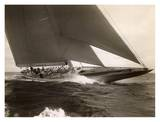 J Class Sailboat, 1934 Reprodukcje autor Edwin Levick