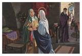 Visitation of the Blessed Virgin Mary Prints by Marvin Nye
