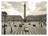 Place Vendome, Paris Art by Vadim Ratsenskiy