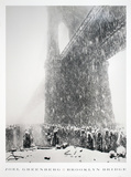 Brooklyn Bridge Collectable Print by Joel Greenberg