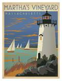 Martha's Vineyard Massachusetts Posters by  Anderson Design Group