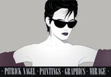 Sunglasses Serigraph by Patrick Nagel