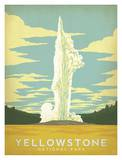 Yellowstone National Park Poster by  Anderson Design Group