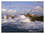 Phare du Creac&#39;h Prints by Jean Guichard