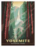Parque Nacional de Yosemite Posters por Anderson Design Group