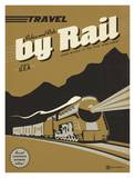 Travel Train Posters by  Anderson Design Group