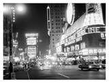 Times Square at Night, 1959 Print