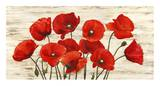 French Poppies Plakat af Serena Biffi