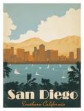 San Diego Prints by  Anderson Design Group