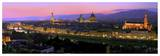 Florence at night Posters af Vadim Ratsenskiy