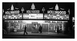 All Night Cinema in Hollywood Posters by Kurt Hutton