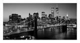 Brooklyn Bridge, NYC Plakaty autor Richard Berenholtz