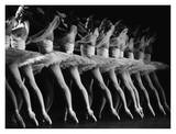 Royal Ballet Dancers in La Bayadere Print by Robbie Jack