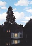O império da luz Posters por Rene Magritte