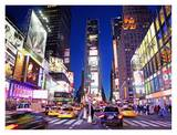 Times Square at Night Prints by Alan Schein