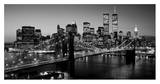 Brooklyn Bridge, NYC Art par Richard Berenholtz