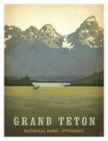 Parque Nacional Grand Teton Psteres por Anderson Design Group
